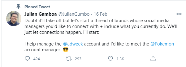 twitter post comment
